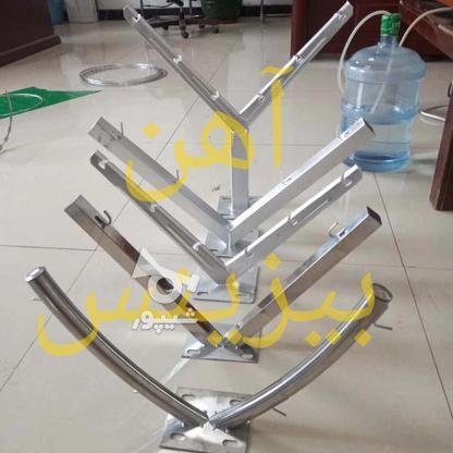تولید انواع پایه فنس , پایه توری حصاری , پایه سیم خاردار در گروه خرید و فروش خدمات و کسب و کار در تهران در شیپور-عکس2