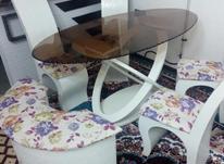 میز نهارخوری فانتزی تمیز جدید6 نفره در شیپور-عکس کوچک