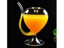 این لیوان شیشه ای نی دار در شیپور-عکس کوچک