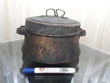 دیگ مسی چکشی قدیمی و بکر در شیپور-عکس کوچک