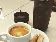 مرکز پخش دستگاه قهوه ساز پرتابل پمپی minipresso در شیپور-عکس کوچک