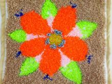 شبه قالی طرح گل در شیپور-عکس کوچک