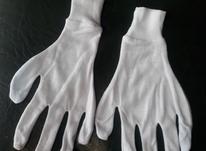 دستکش نخی سفید 100 جفت  در شیپور-عکس کوچک