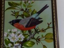 تابلو پرنده رنگ و روغن در شیپور-عکس کوچک