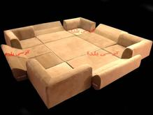 مبل دورهمی عید مبل کرسی تخت شو ، پشتی خلیجی مدرن در شیپور-عکس کوچک