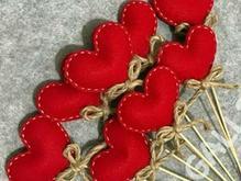 20 عدد قلب نمدی  در شیپور-عکس کوچک