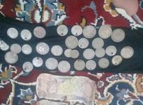 سکه شاهنشاهی و اسکناس5000هزار ریالی شاهنشاهی در شیپور-عکس کوچک
