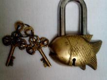 قفل ماهی برنجی در شیپور-عکس کوچک