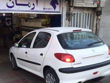پژو 206 تیپ 2 سفید مدل 1397 در شیپور-عکس کوچک