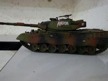 ماکت تانک و سامانه موشکی اس 300 در شیپور-عکس کوچک