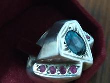 انگشتر نقره با طرح الماس  در شیپور-عکس کوچک