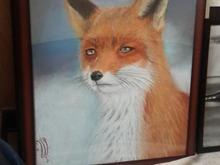 نقاشی اورجینال روباه در شیپور-عکس کوچک