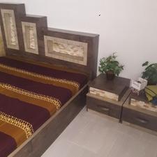 سرویس خواب تخت و کمد و پا تختی و دراور . در شیپور-عکس کوچک