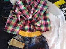 2دست لحاف و تشک مخمل نوزادی دخترانه  و لباس در شیپور-عکس کوچک