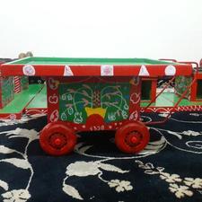چرخ گاری طحافی قدیمی در شیپور-عکس کوچک