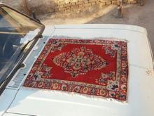 یک جفت قالیچه دستباف اصفهانی کهنه در شیپور-عکس کوچک