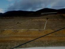 زمین برخیابان اصلی ورودی عنبران با مرزمشخص شده در شیپور-عکس کوچک