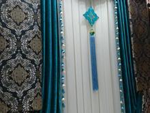 والان گلدار سبز آبی نونو در شیپور-عکس کوچک