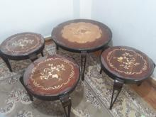 میز جلو مبلی بدون استفاده نو نو. منبتکاری شده  در شیپور-عکس کوچک