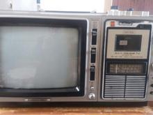 رادیو ظبط وتلویزیون 14 اينچ رنگی درحد نو در شیپور-عکس کوچک