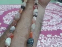 مهره های سه پوست.عقیق چشمی و سلیمان و مهره بودااصل در شیپور-عکس کوچک