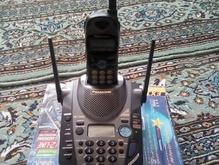 تلفن بیسیم پاناسونیک اصل ژاپن دوخط در شیپور-عکس کوچک