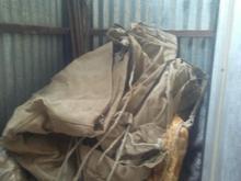فروش یک تخته چادر برزنتی در حد نو  در شیپور-عکس کوچک