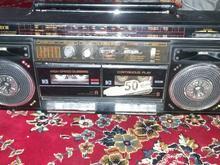 رادیو ظبط دوکاسته قدیمی در شیپور-عکس کوچک