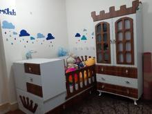 تخت نوزادی تا نوجوانی و کمد لباس  در شیپور-عکس کوچک