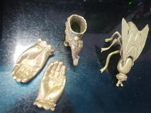 مجسمه برنجی حیوانات در شیپور-عکس کوچک