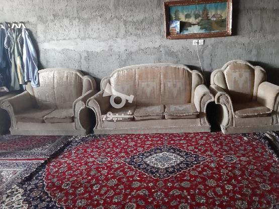 یه دست مبل هفت نفره سالم  در گروه خرید و فروش لوازم خانگی در اصفهان در شیپور-عکس1