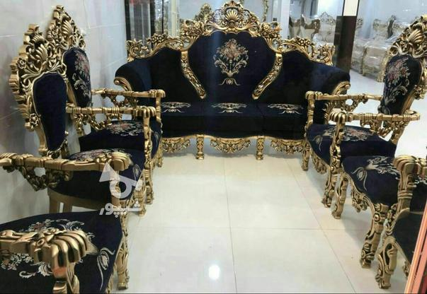 مبل سلطنتی مصری مدل پنجه شیری ، در گروه خرید و فروش لوازم خانگی در زنجان در شیپور-عکس1
