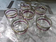 6 عدد استکان لبه طلایی در شیپور-عکس کوچک