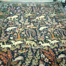 فرش دستباف طرح جنگلی در شیپور-عکس کوچک