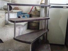 ساخت انواع.پله گردان.پیچ .اهنی .استیل.و... در شیپور-عکس کوچک