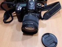 دوربین dslr nikon d80 با لنز در شیپور-عکس کوچک
