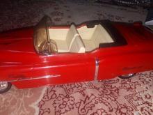 ماکت ماشین پیکان جوانان آلبالویی قرمز توکرم قدیمی در شیپور-عکس کوچک