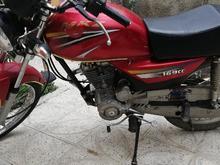 موتورسیکلت ام کا زد مدل 94 درحدنو 5دنده استارتی  در شیپور-عکس کوچک