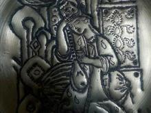 بشقاب قلمزنی  در شیپور-عکس کوچک