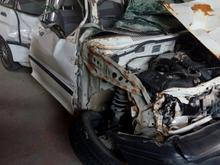 پراید 90 کرمانشاه هرسین تصادفی موتور سالم در شیپور-عکس کوچک