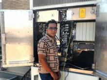 تکنسین برق و مکانیک جویای کار در شیپور-عکس کوچک
