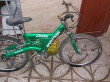 دوچرخه دنده ای فنری سایز 24 در شیپور-عکس کوچک