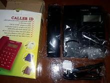 تلفن رومیزی صا ایران مشکی کاملا نو دارای ID Caller نمایشگر در شیپور-عکس کوچک