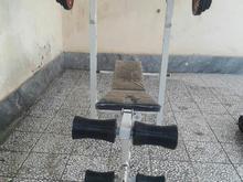 وسایل بدنسازی دمبل و هالتر و میز هفت کاره  در شیپور-عکس کوچک