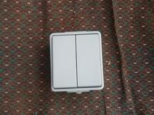 100 عدد کلید دوپل روکار صنعتی در شیپور-عکس کوچک