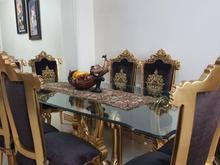 میز نهارخوری 8 نفره استیل در شیپور-عکس کوچک
