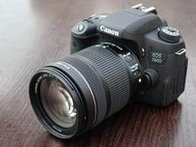 دوربین  canon 760d با لنز 135_18 در حد نو در شیپور-عکس کوچک