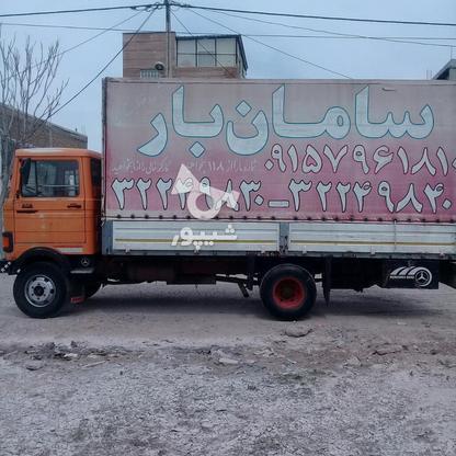 حمل اسباب اثاثیه منزل            باربری سامان بار  در گروه خرید و فروش خدمات در خراسان شمالی در شیپور-عکس1