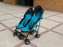 کالسکه دوقلو چیکو مدل اکو در شیپور-عکس کوچک