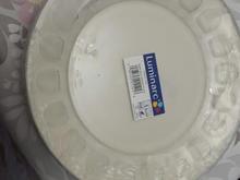 فروش بشقاب برنج خوری شیشه ای فرانسه اکبند3 دست  در شیپور-عکس کوچک
